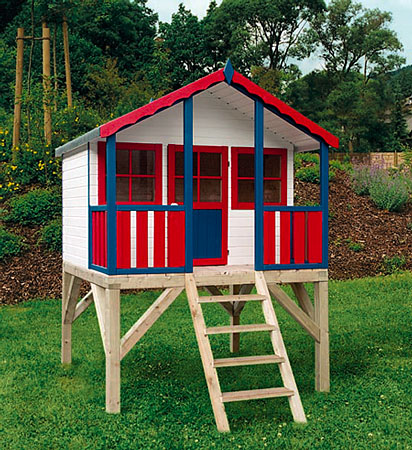 סופר בית עץ לילדים - אל גליל אומנות בעץ וברזל - בתי עץ לילדים GD-23