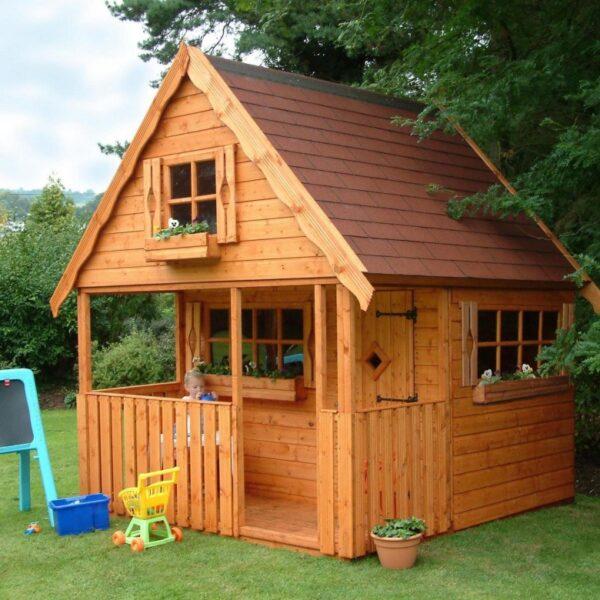 בתי עץ לילדים לחצר