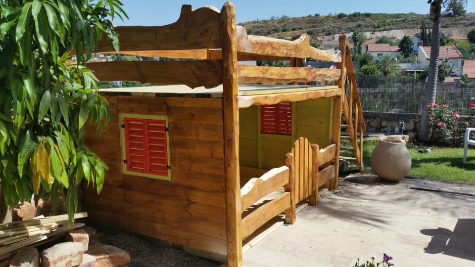 בית עץ גושני לילדים