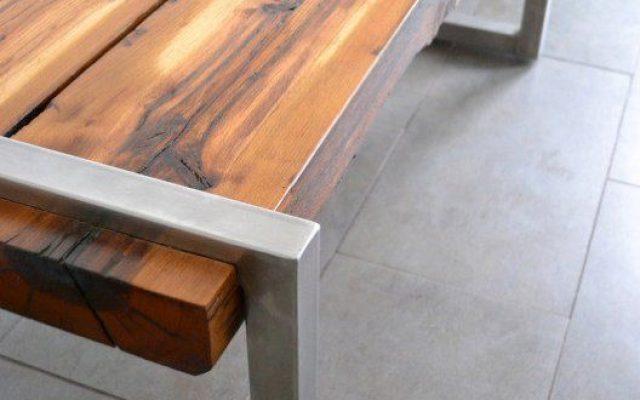 ריהוט מיוחד בשילוב עץ וברזל